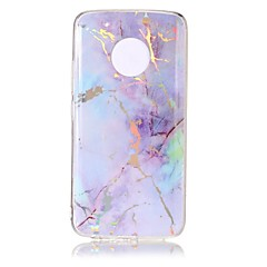 cheap Cases / Covers for Motorola-Case For Motorola MOTO G5 Plus / MOTO G5 IMD / Pattern Back Cover Marble Soft TPU for Moto G5 Plus / Moto G5 / Moto C plus