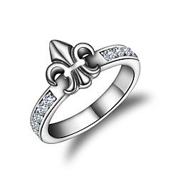 Жен. Классические кольца Мода корейский Циркон Геометрической формы Бижутерия Назначение Другое Повседневные