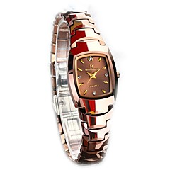 tanie Zegarki damskie-Damskie Pudełka na zegarki Sztuczny Diamant Zegarek Unikalne Kreatywne Watch Zegarek na nadgarstek Zegarek na bransoletce Do