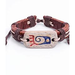 preiswerte Armbänder-Damen Strang-Armbänder / Armband - Leder Böhmische Armbänder Braun Für Normal / Ausgehen