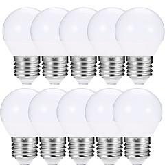 お買い得  LED 電球-EXUP® 10個 6W 600lm E27 LEDボール型電球 A15 12 LEDビーズ SMD 5730 LEDライト 温白色 クールホワイト 85-265V