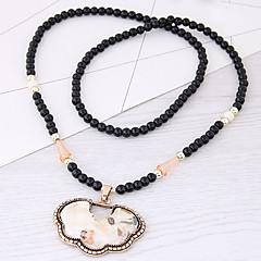 Жен. Ожерелья с подвесками Резина Сплав европейский Мода Бижутерия Назначение Для вечеринок Повседневные