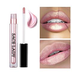 voordelige -Lipgloss Lipsticks Glinstering Vloeistof Gekleurde Lipgloss Lipgloss Vochtigheid waterdicht 1