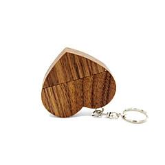 お買い得  USBメモリー-Ants 4GB USBフラッシュドライブ USBディスク USB 2.0 木製 キーチェーン Key Chain / 木製
