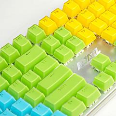 aj kristal mechanisch toetsenbord sleutel cap 104 all-key twee kleuren transparant kleur sleutel hoed polychromatisch optioneel