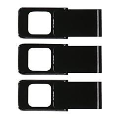 電話/コンピュータの3pcsのウェブカメラのスライダーカメラのレンズカバーのプライバシー保護