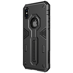 Недорогие Кейсы для iPhone X-Кейс для Назначение Apple iPhone X iPhone X Защита от удара Кейс на заднюю панель броня Твердый ПК для iPhone X