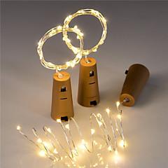 billige LED-stribelys-BRELONG® 15 lysdioder RGB + Varm Lyserød Gul Rød Jul bryllup dekoration Dekorativ <5V