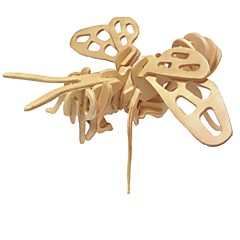 preiswerte -3D - Puzzle Holzpuzzle Holzmodelle Modellbausätze Haus Tier 3D Klassisch Mode Neues Design Kinder Schlussverkauf 1pcs neu Modern /