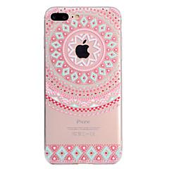 Недорогие Кейсы для iPhone 7-Кейс для Назначение Apple iPhone X iPhone 8 Plus С узором Кейс на заднюю панель Кружева Печать Мягкий ТПУ для iPhone X iPhone 8 Pluss