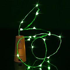 お買い得  LED ストリングライト-BRELONG® 0.9m ストリングライト 8 LED 温白色 / ホワイト / ブルー 防水 <5 V 1個