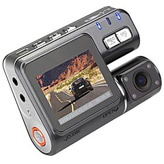cheap Car Accessories-I1000 720p Car DVR 90 Degree Wide Angle 1.8inch LCD Dash Cam with Loop recording / Night Vision Car Recorder