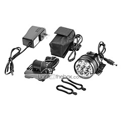Headlamps LED 10000 lm 1 Mode Cree XM-L T6 Rechargeable for Camping/Hiking/Caving Cycling/Bike Hunting Fishing Traveling Driving