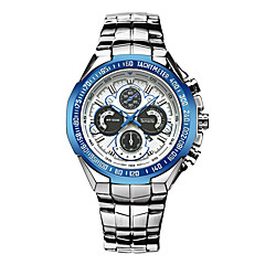 preiswerte Tolle Angebote auf Uhren-Herrn Quartz Armbanduhr / Militäruhr / Sportuhr Japanisch Alarm / Kalender / Chronograph / Wasserdicht / Thermometer / Tachymeter /