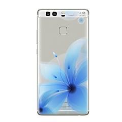 voordelige Nieuw Binnengekomen-hoesje Voor Huawei P9 P10 Transparant Patroon Achterkantje Bloem Zacht TPU voor Huawei P10 Plus Huawei P10 Lite Huawei P10 Huawei P9