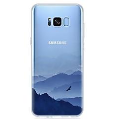 halpa Galaxy S4 Mini kotelot / kuoret-Etui Käyttötarkoitus S8 S7 Ultraohut Läpinäkyvä Kuvio Takakuori Scenery Pehmeä TPU varten S8 S8 Plus S7 edge S7 S6 edge plus S6 edge S6