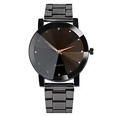 cheap -Men's Casual Watch Fashion Watch Dress Watch Chinese Quartz Water Resistant / Water Proof Stainless Steel Band Casual Bohemian Cool Black