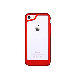 billige Etuier til iPhone 7-Etui Til Apple iPhone 7 iPhone 7 Plus Ultratyndt Stødfanger Helfarve Hårdt PC for iPhone X iPhone 7 Plus iPhone 7 iPhone 6 Plus iPhone 6