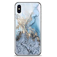 voordelige iPhone 7 hoesjes-hoesje Voor Apple iPhone X iPhone 8 Plus Patroon Achterkant Marmer Zacht TPU voor iPhone X iPhone 8 Plus iPhone 8 iPhone 7 Plus iPhone 7
