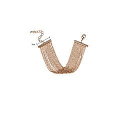Жен. Wrap Браслеты Мода Крупногабаритные Сплав В форме линии Бижутерия Назначение Свидание