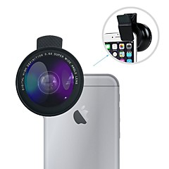 Wide Angle Lens Kit Lingwei Universal 0.6X Wide Angle Lens / 12X Macro Lens With Clips for iPhone
