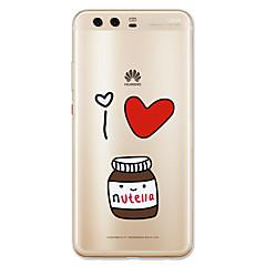 olcso Huawei tokok-Case Kompatibilitás Huawei P10 Lite Minta Hátlap Rajzfilm Puha TPU mert Huawei P10 Plus Huawei P10 Lite Huawei P10 Huawei P9 Huawei P9