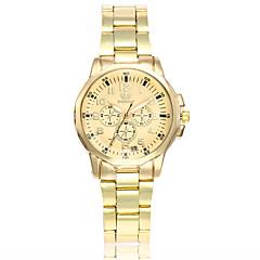 preiswerte Tolle Angebote auf Uhren-Damen Armbanduhr Chinesisch Armbanduhren für den Alltag Legierung Band Luxus / Freizeit / Modisch Gold