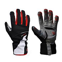 voordelige Fietshandschoenen-West biking Activiteit/Sport Handschoenen Fietshandschoenen Skihandschoenen Houd Warm waterdicht Winddicht Fleece voering Ademend