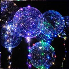 voordelige Oplichtend speelgoed-LED-verlichting LED-ballonnen Speeltjes Vakantie Verjaardag Glow in the dark Nieuw Design Kinderen Volwassenen 1pcs Stuks