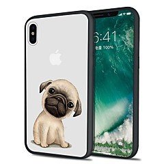 voordelige iPhone 7 Plus hoesjes-hoesje Voor Apple iPhone X iPhone 8 Plus Patroon Achterkant Hond Zacht TPU voor iPhone X iPhone 8 Plus iPhone 8 iPhone 7 Plus iPhone 7
