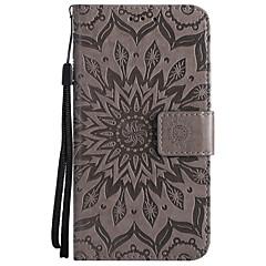 Недорогие Чехлы и кейсы для LG-Кейс для Назначение LG G3 Mini / LG G3 / LG K8 Q6 / K8 (2017) Кошелек / Бумажник для карт / со стендом Чехол Однотонный Твердый Кожа PU для LG X Power / LG V20 / LG V10 / LG G6 / LG G4 / LG K10