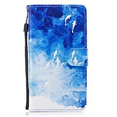 olcso Nova kolekcija-Case Kompatibilitás Huawei P8 Lite (2017) P10 Lite Pénztárca Kártyatartó Állvánnyal Flip Minta Teljes védelem Állat Kemény Műbőr Bőr mert