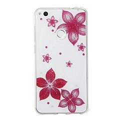 Kılıf Na Huawei P8 Lite (2017) P10 Lite IMD Wzór Etui na tył Połysk Kwiaty Miękkie TPU na P10 Lite P8 Lite (2017)