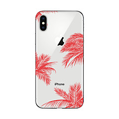 halpa iPhone 5 kotelot-Etui Käyttötarkoitus Apple iPhone X iPhone 8 Plus iPhone 7 iPhone 7 Plus iPhone 6 Kuvio Takakuori Scenery Pehmeä TPU varten iPhone X