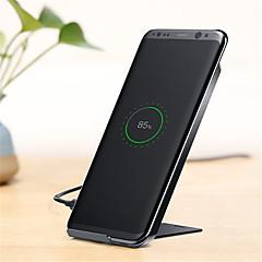 Χαμηλού Κόστους -Ασύρματος Φορτιστής Φορτιστής USB τηλεφώνου USB Qi 1 θύρα USB 1A DC 5V iPhone X iPhone 8 Plus Note 8