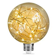 お買い得  LED 電球-1個 3W 200lm E26 / E27 フィラメントタイプLED電球 G95 33 LEDビーズ SMD 星の 装飾用 温白色 85-265V