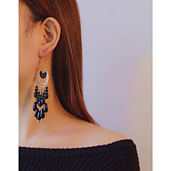 Women's Drop Earrings Dangle Earrings Acrylic Tassel Bohemian Acrylic Alloy Drop Jewelry Party Daily
