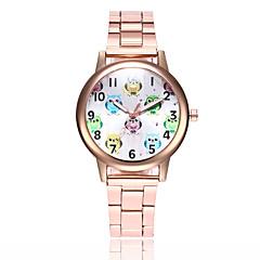 preiswerte Tolle Angebote auf Uhren-Damen Armbanduhr Quartz Armbanduhren für den Alltag Legierung Band Analog Freizeit Modisch Elegant Silber / Gold / Rotgold - Gold Silber Rotgold