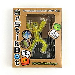 abordables Juegos de Mesa-Robot Stikbot Creativo Novedades 1 pcs Niños Adulto Juguet Regalo