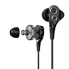 Χαμηλού Κόστους Ακουστικά κεφαλής και ψείρες-T8/T8S EARBUD Ενσύρματη Ακουστικά Κεφαλής Δυναμικός Πλαστική ύλη Pro Audio Ακουστικά Με Μικρόφωνο Ακουστικά