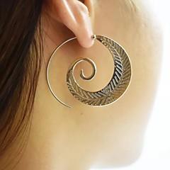 preiswerte Ohrringe-Damen Kreolen - Einfach, Europäisch, Modisch Gold / Silber Für Normal