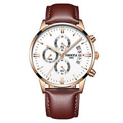 preiswerte Tolle Angebote auf Uhren-Herrn Quartz Armbanduhr Chinesisch Kalender / Chronograph / Wasserdicht / Armbanduhren für den Alltag / Nachts leuchtend / leuchtend
