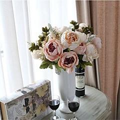 Недорогие Женские украшения-Искусственные Цветы 1 Филиал Modern Пионы Букеты на стол