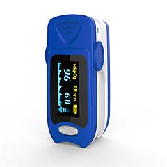 Недорогие Забота о здоровье-точный fs20a oled кончик пальца пульс оксиметр оксиметрия кровь кислород насыщенность монитор с батареями синий цвет