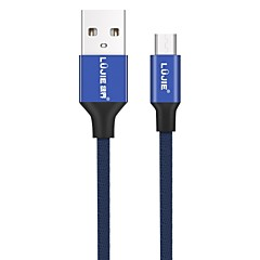 LUJIE USB 2.0 Câble, USB 2.0 to Micro USB 2.0 Câble Male - Male 480P 1.0m (3ft) 480 Mbps