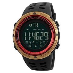 Męskie DZIECIĘCE Na codzień Sportowy Modny Chiński Nakręcanie automatyczne Bluetooth Kalendarz Wodoszczelny Krokomierz Stoper PU Pasmo