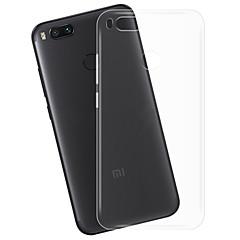 Недорогие Чехлы и кейсы для Xiaomi-Кейс для Назначение Xiaomi Mi 5X Прозрачный Кейс на заднюю панель Прозрачный Мягкий ТПУ для Xiaomi Mi 5X Xiaomi A1