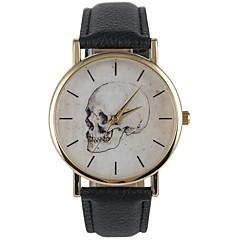 お買い得  大特価腕時計-男性用 女性用 リストウォッチ 日本産 クォーツ カジュアルウォッチ PU バンド ハンズ カジュアル ファッション ブラック - ブラック / Sony SR626SW
