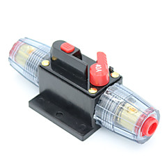 Недорогие Аудио для автомобиля-dc 12v автомобильный стерео аудио выключатель встроенный предохранитель 40amp rv