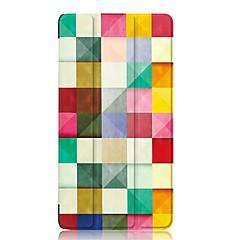 preiswerte Tablet-Hüllen-Hülle Für Lenovo Ganzkörper-Gehäuse / Tablet-Hüllen Hart PU-Leder für
